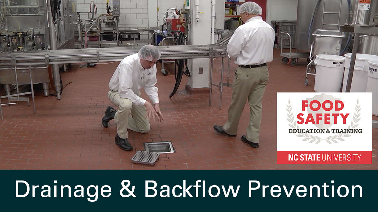 Drainage and Backflow Prevention